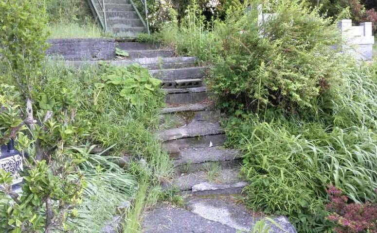 階段を設置しました!