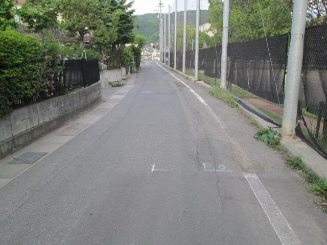 市道の舗装を行いました!