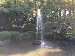 噴水 兼六園